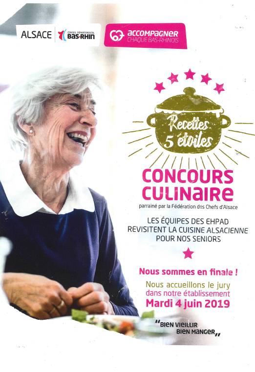 affiche concours culinaire